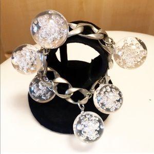 Jewelry - Clear bubble ball chain bracelet